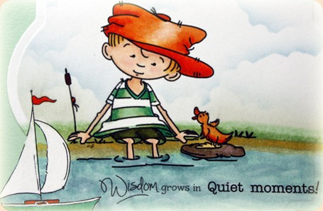 Sassy Cheryl's Stamps, Quiet Moments