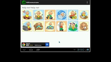 Screenshot of Kid Communicator