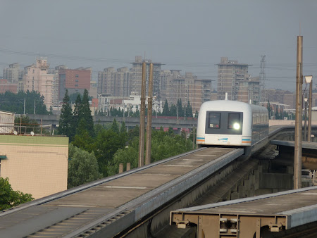 Transport de mare viteza China: Maglev Shanghai