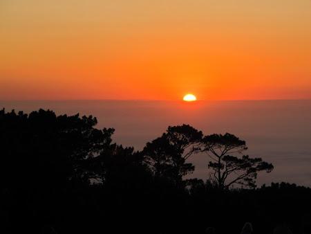 Apus de soare in Africa
