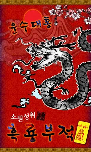 소원성취 흑룡부적 + 비밀보관함