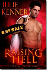JulieKenner_RaisingHell 99SALE