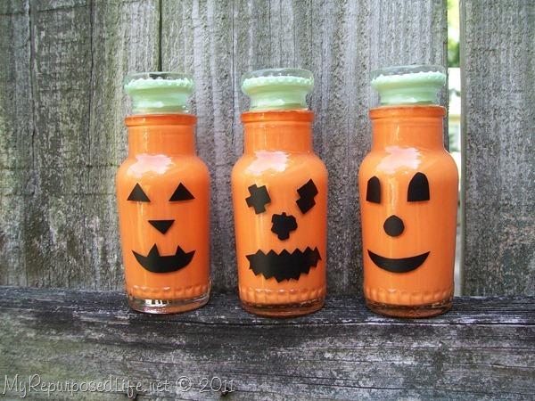 jack o lantern bottles
