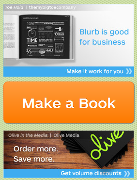 blurb make published book
