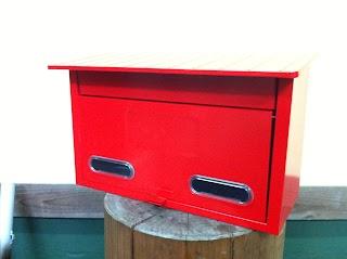 1752021834 - カスタムペイント工程 郵便ポスト 和柄