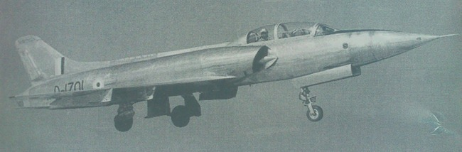 Twin-Seat variant of HF-24 Marut fighter aircraft