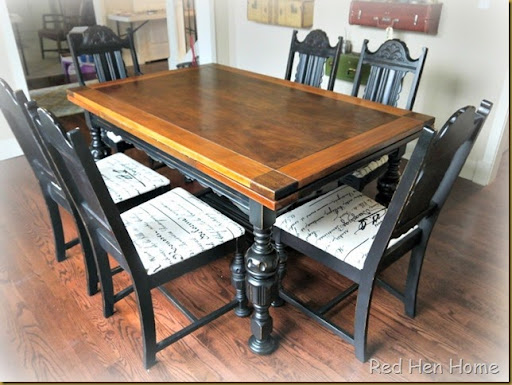 Red Hen Home Two Tone Table Revisited