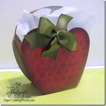 cricut apple bag red-500