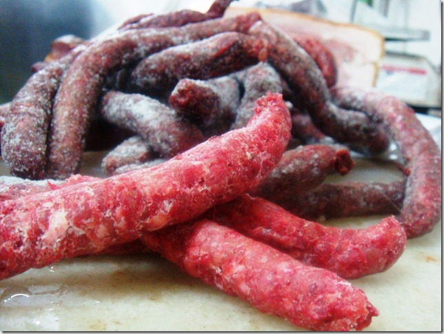 Hungarian sausages