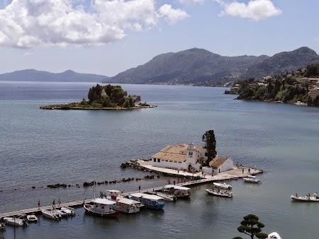 Imagini Kanoni: Imaginea tipica pentru Corfu.JPG