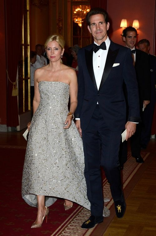 Princess Marie Chantal King Carl Gustav Hosts