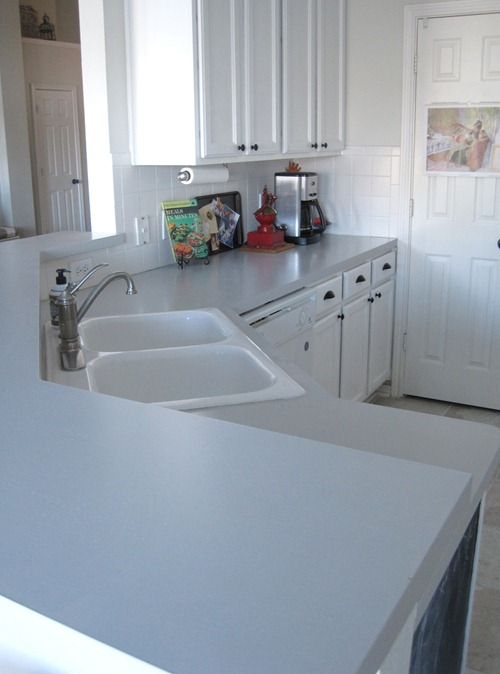 Working With: Ugly Kitchen Countertops & Tile - Emily A. Clark on