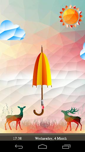 Umbrella Screen Lock