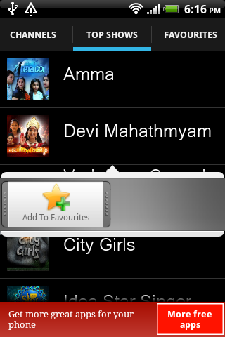 Malayalam TV Shows and Serials - screenshot