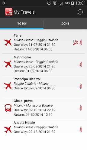 My Travels Reservations