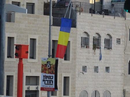 Steagul Romaniei in Israel