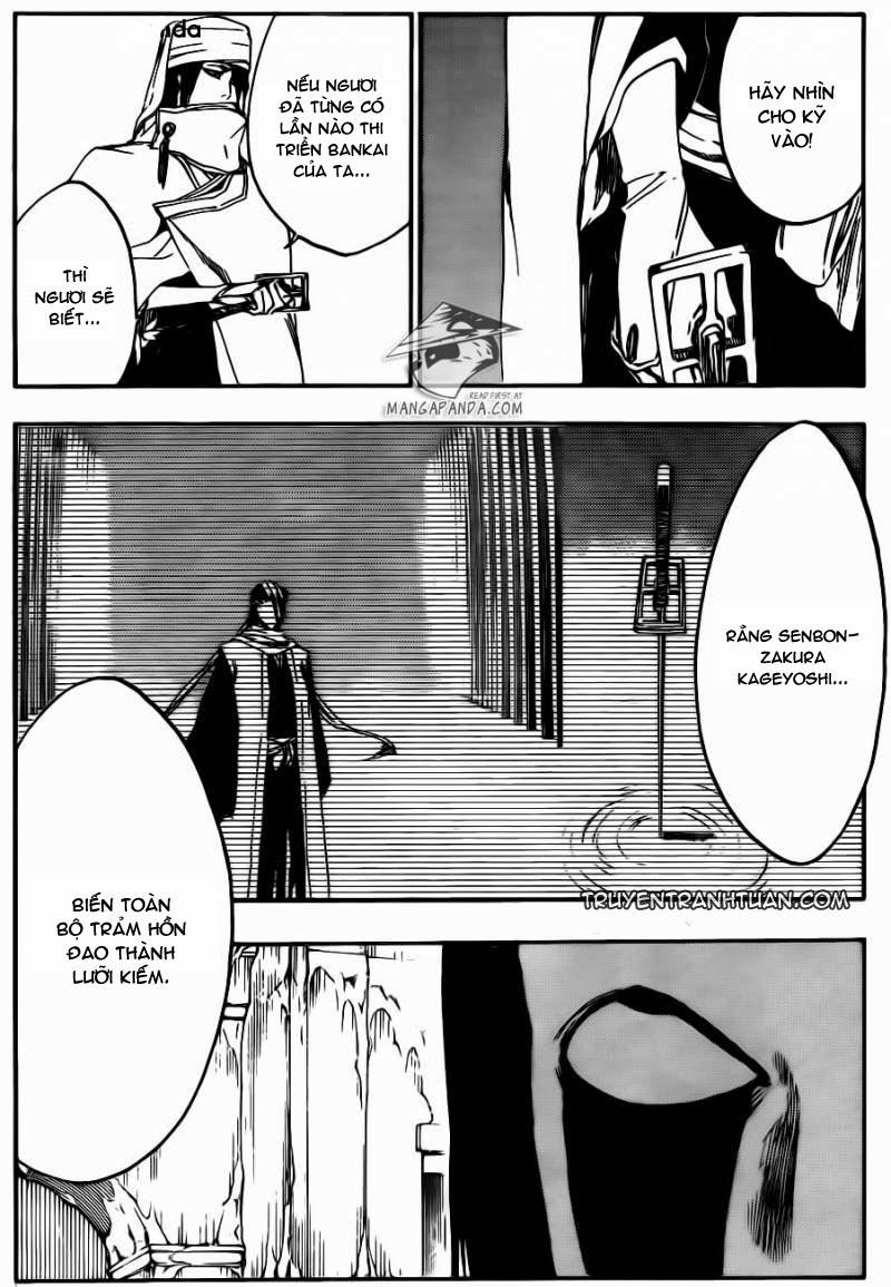 Bleach chapter 569 trang 9