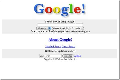 google first look