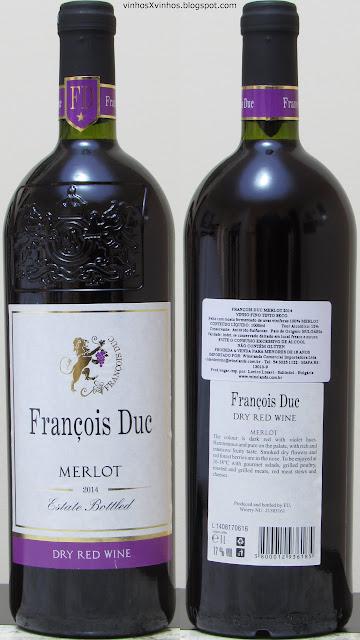 François Duc Merlot