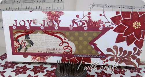 June @ I will craft Christmas card 4