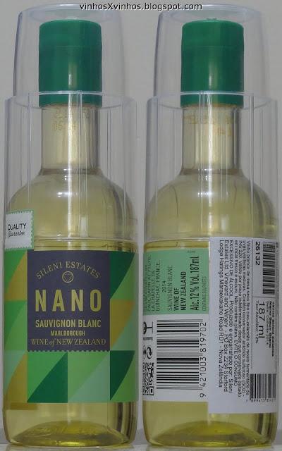 nano sauvignon blank PET