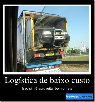 Logistica de baixo custo By Kiko Molinari Originals