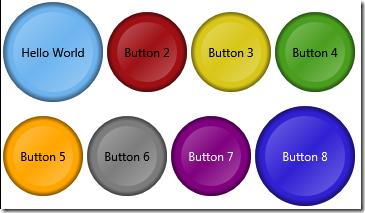 Sound Code: Circular WPF Button Template