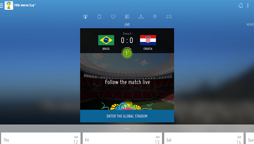 FIFA World Cup 2014 Android App