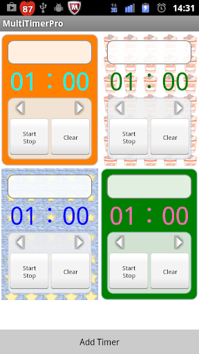 Multi Kitchen Timer 1.2.1 Windows u7528 2