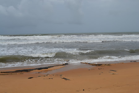 La Mare in India: Sinquerim beach in Goa
