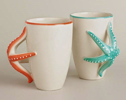 Inspiração: estrela do mar - caneca