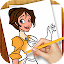 Learn to Draw Cartoon Princess for Lollipop - Android 5.0