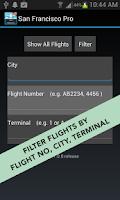 Screenshot of Phoenix Sky Harbor Airport Pro
