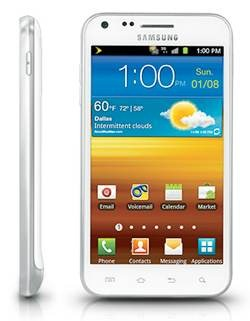 Samsung Galaxy S II Epic Touch 4G white
