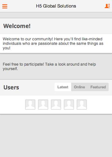 【免費商業App】H5 Global Solutions Social App-APP點子