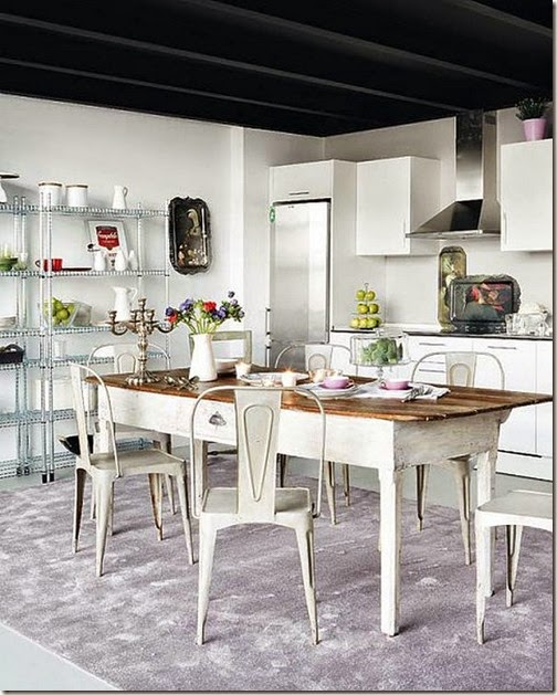 Elegant-two-level-loft-Madrid-7