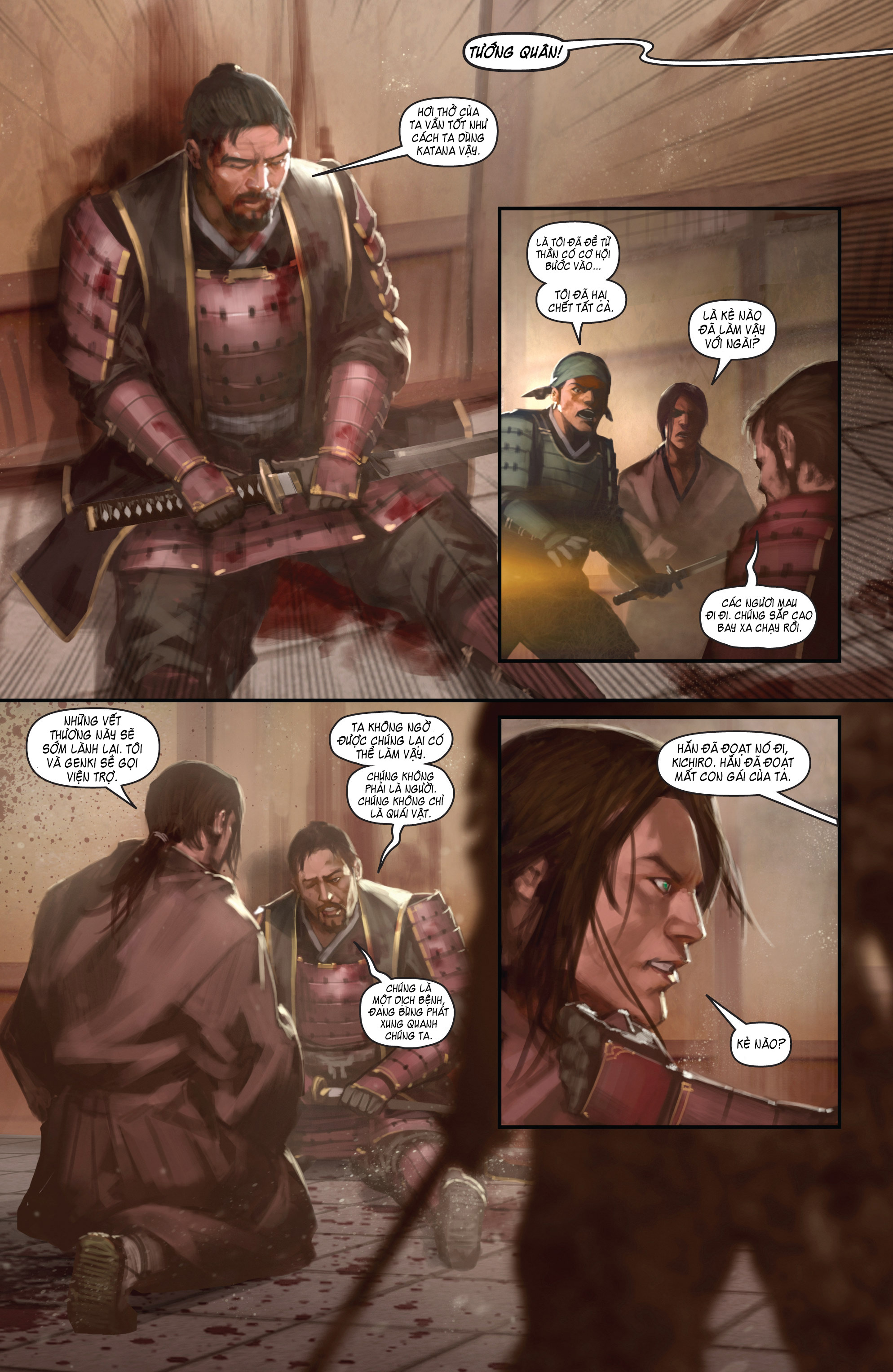 BUSHIDO - THE WAY OF THE WARRIOR chapter 4 trang 6