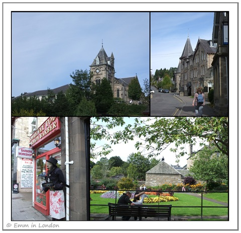 Glimpses of Pitlochry