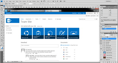 sharepoint 2010 branding templates - sharepoint 2013 photoshop layered file