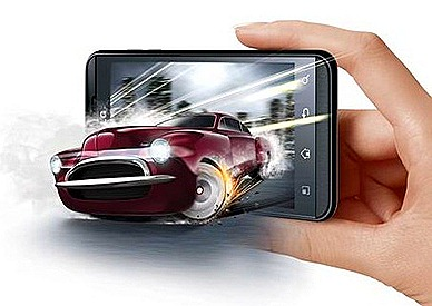 LG Optimus 3D Smart phone Singapore