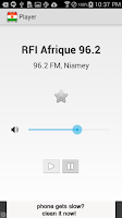 Screenshot of Radio Niger