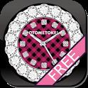 [Free]CUTE QLOCK OTOMETOKEI icon