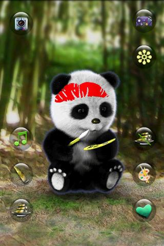Talking Panda- screenshot
