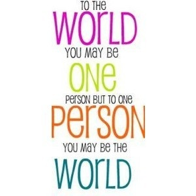 The world(:
