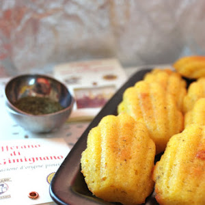 Savory Madeleines with Saffron and Dill