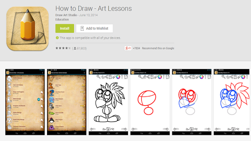 How To Draw Art Lessons