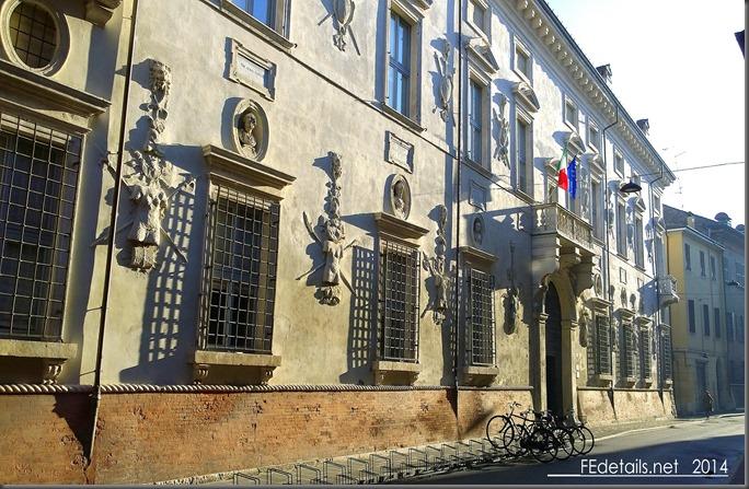 Palazzo Bevilacqua- Costabili, Ferrara. Italy, photo1