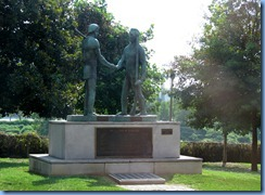 9461 Nashville, Tennessee - Discover Nashville Tour - The Founding of Nashville - James Robertson & John Donelson statue