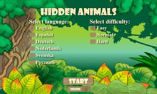 Hidden Animals FREE 2+ 1.2.5 screenshots 1
