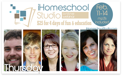 iHomeschool Studio homeschool webinar